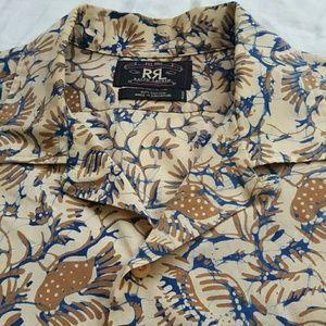 RRL Ralph Lauren Hawaiian Camp Shirt